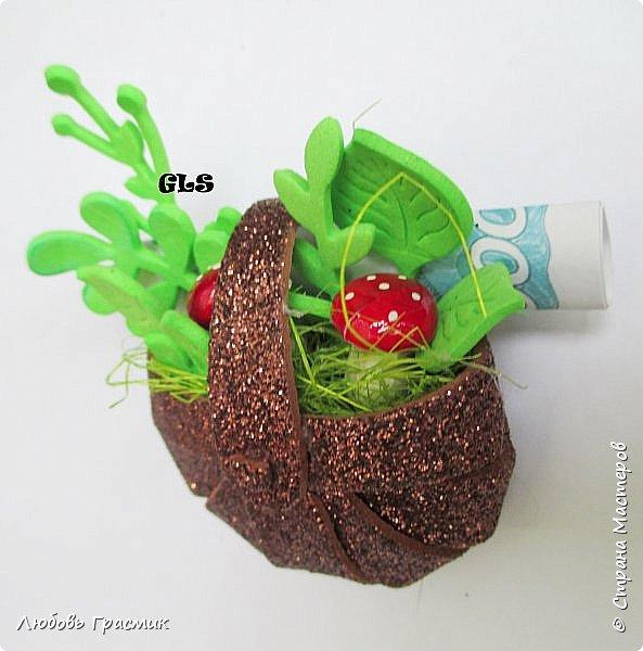 Корзиночки со свежей зеленью фото 2