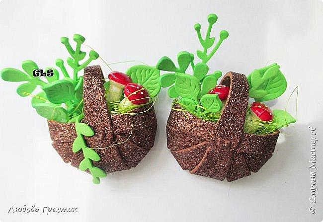 Корзиночки со свежей зеленью фото 3