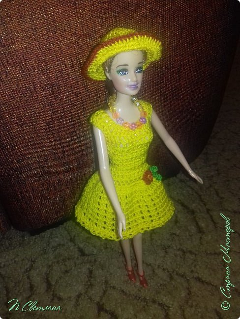 Одеваем куклу.  фото 1
