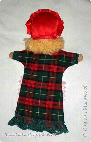 кукла-перчатка Красная Шапочка развивающая мелкую моторику фото 4