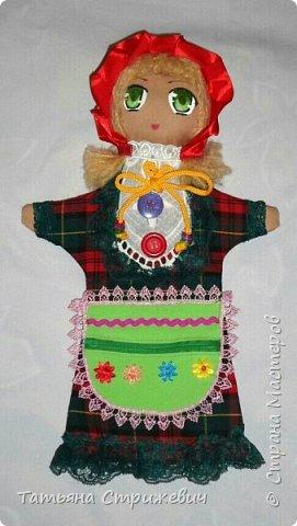 кукла-перчатка Красная Шапочка развивающая мелкую моторику фото 1