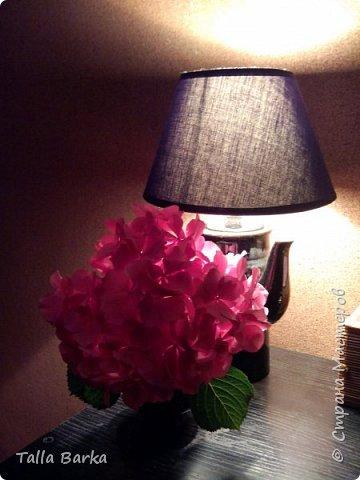 Собрала себе ночник. Свет приглушенный, приятный. фото 1