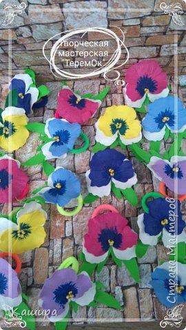 Цветы из фома фото 20