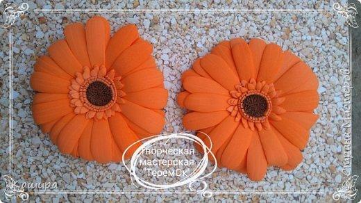 Цветы из фома фото 18