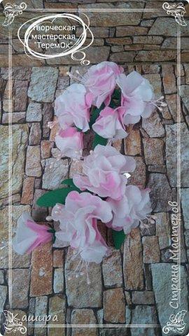 Цветы из фома фото 11