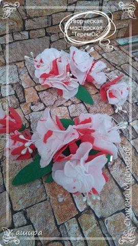 Цветы из фома фото 9
