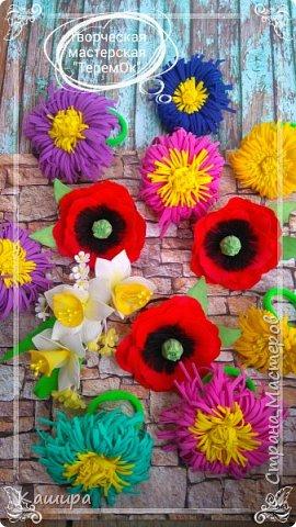 Цветы из фома фото 6