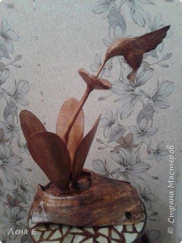 Здравствуй страна! вот мое новое творение.Основа натуральное дерево, все остальное папье маше, высота 50 см фото 1