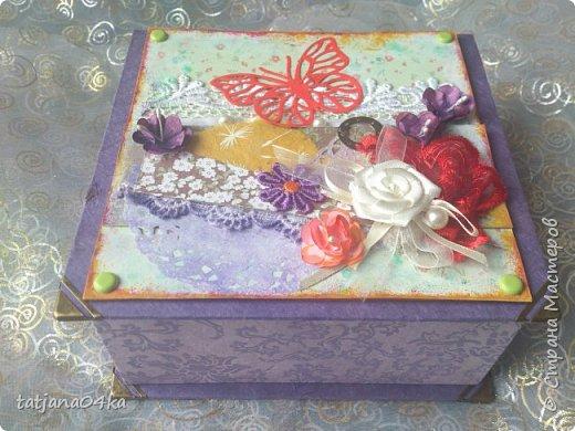пришлось натворить такие не скучные коробочки, в подарки знакомым,, фото 5