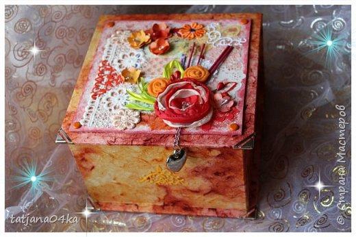 пришлось натворить такие не скучные коробочки, в подарки знакомым,, фото 2