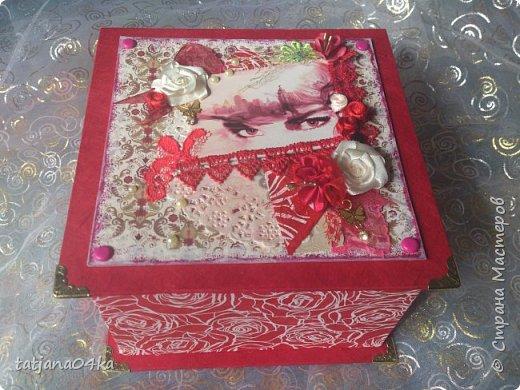 пришлось натворить такие не скучные коробочки, в подарки знакомым,, фото 1