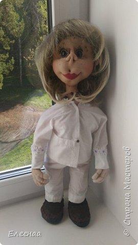 Здравствуйте дорогие мастерицы!давно не выставляла кукол,занималась плетением из газетных трубочек фото 3