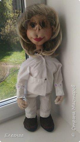 Здравствуйте дорогие мастерицы!давно не выставляла кукол,занималась плетением из газетных трубочек фото 6