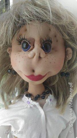 Здравствуйте дорогие мастерицы!давно не выставляла кукол,занималась плетением из газетных трубочек фото 5