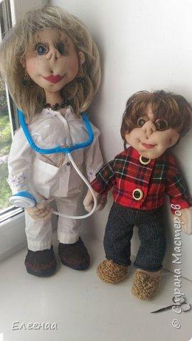 Здравствуйте дорогие мастерицы!давно не выставляла кукол,занималась плетением из газетных трубочек фото 8