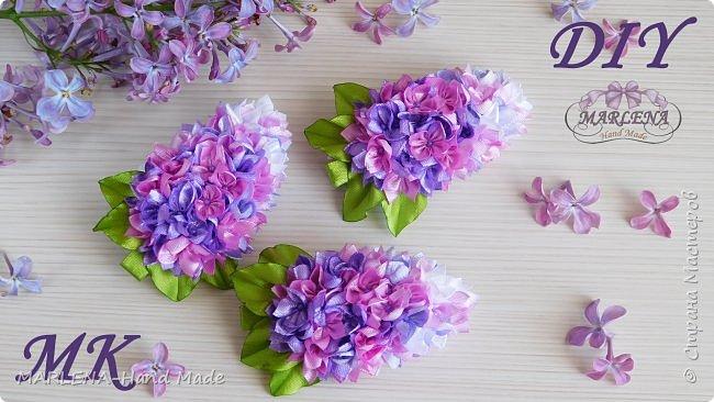 Заколки с цветами  фото 1