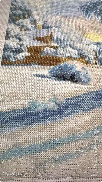 """ну вот и закончила я """"березу у ручья"""" от Чарiвна мить фото 2"""