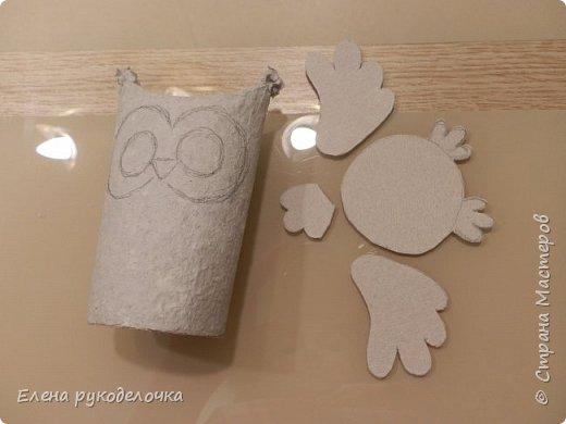 Доброго времени суток всем, кто заглянул ко мне в гости! Сегодня я хочу показать как делаю ёжиков и совят из рулончиков от туалетной бумаги или бумажных полотенец. фото 27