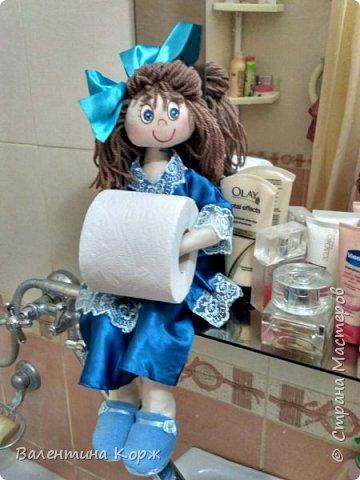 Кукла-держатель туалетной бумаги фото 11