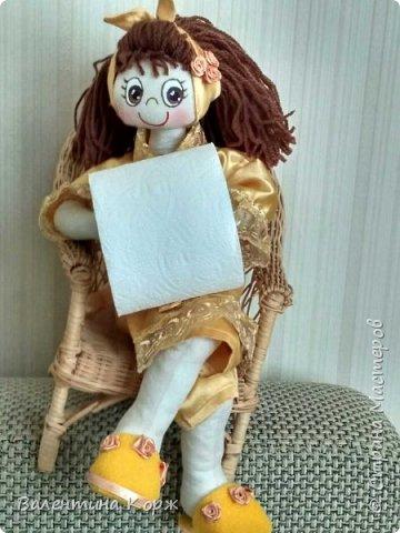 Кукла-держатель туалетной бумаги фото 12
