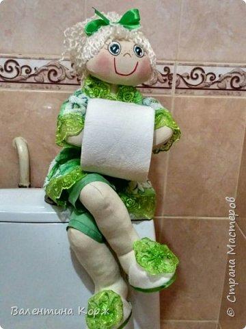 Кукла-держатель туалетной бумаги фото 15