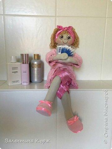 Кукла-держатель туалетной бумаги фото 3