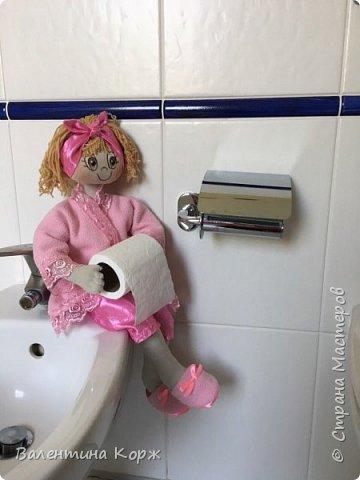 Кукла-держатель туалетной бумаги фото 1