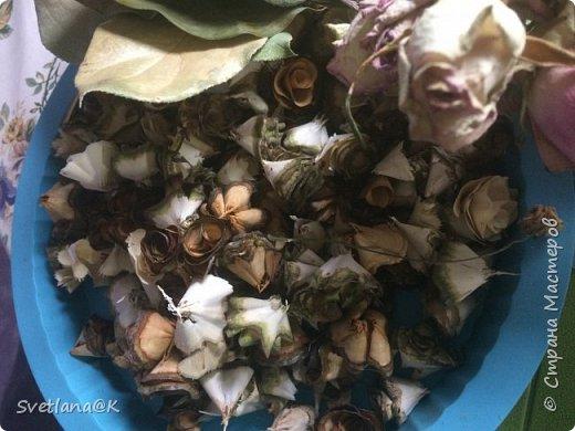 Венок из сухих цветов фото 3