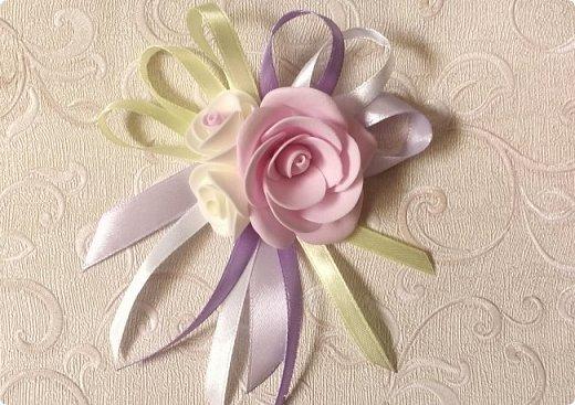 Здравствуйте! Сегодня хочу вам показать набор для  свадьбы в пастельных тонах. Нам с напарницей поступил заказ на свадебные аксессуары. Так как невеста должна быть в платье цвета айвори, основными цветами были айвори, розовый и лаванда.  Итак...  Набор для церемонии со свечами. фото 7