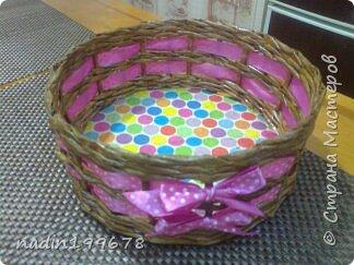 Корзиночки-плетушки фото 1
