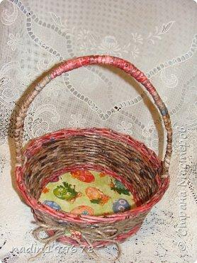 Корзиночки-плетушки фото 5