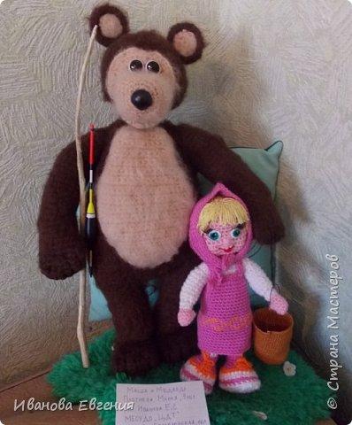 Вязанные мягкие игрушки из любимого мультика.