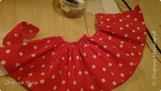 Добрый всем привет!  Вот такое ретро - платье для танца в детском саду родилось у меня.  фото 3