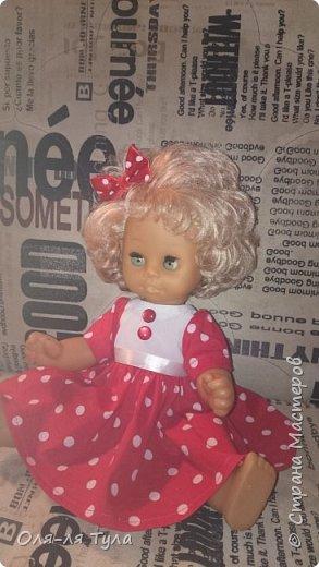 Добрый всем привет!  Вот такое ретро - платье для танца в детском саду родилось у меня.  фото 1