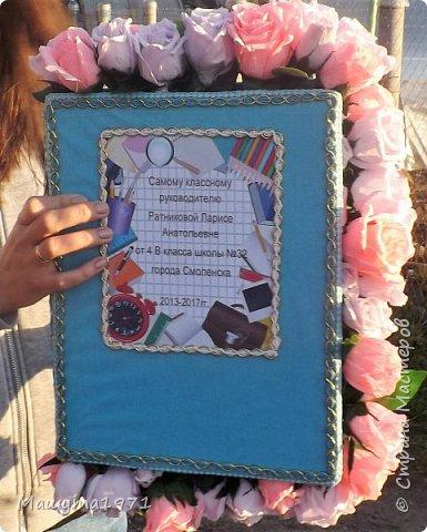 Сделала на последний звонок в начальной школе учителю на подарок.  фото 4