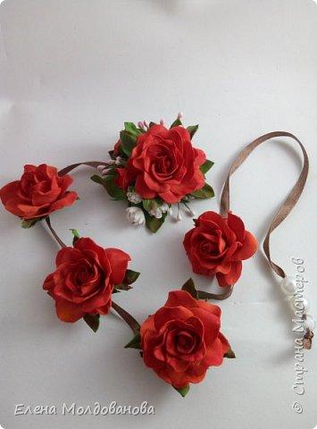 Розы на ленте фото 3