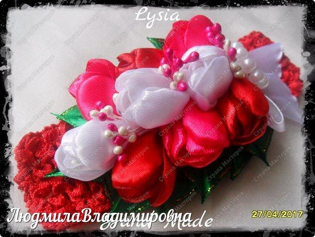 Охи утонула я в цветах.........тюльпанах фото 4