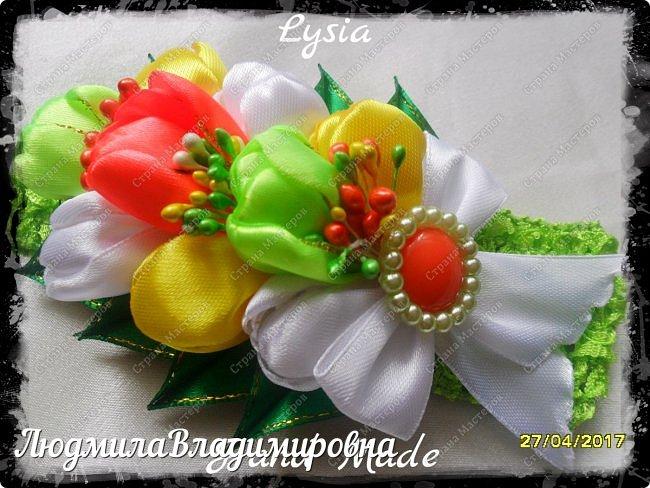 Охи утонула я в цветах.........тюльпанах фото 11