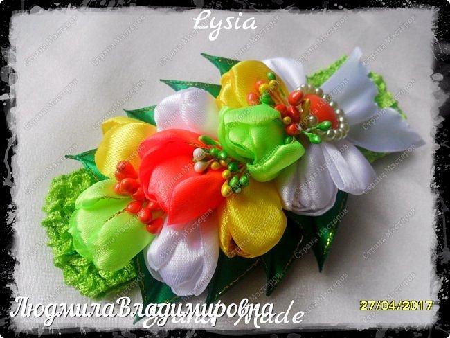 Охи утонула я в цветах.........тюльпанах фото 10