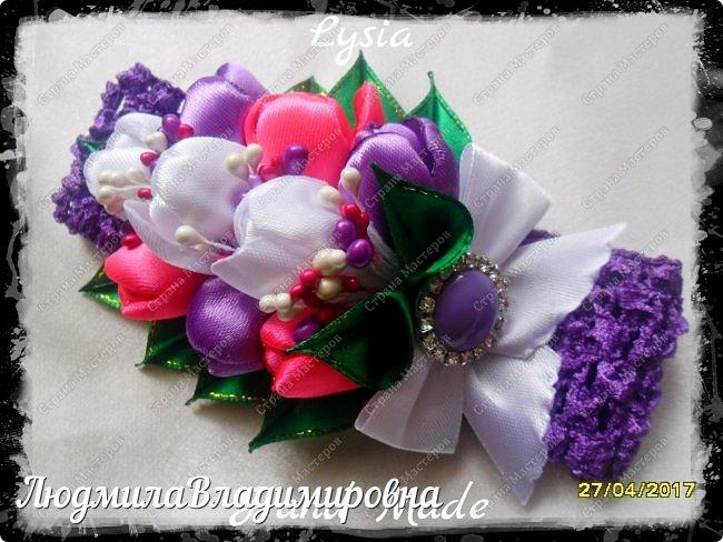 Охи утонула я в цветах.........тюльпанах фото 7