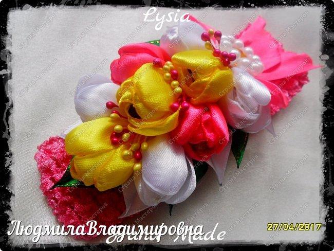 Охи утонула я в цветах.........тюльпанах фото 8