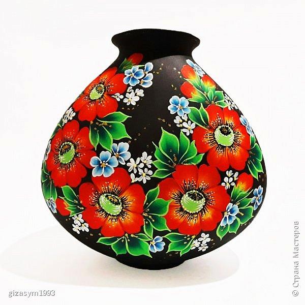 Расписные вазы