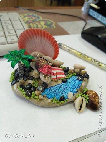 Мини-пляж