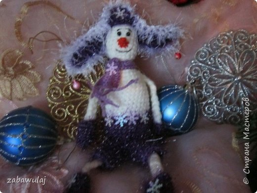 Снежная девочка рост 50 см фото 4