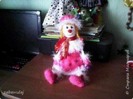 Снежная девочка рост 50 см фото 1