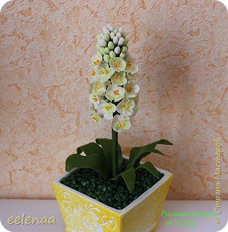 Фантазийный цветок ( холодный фарфор). фото 1