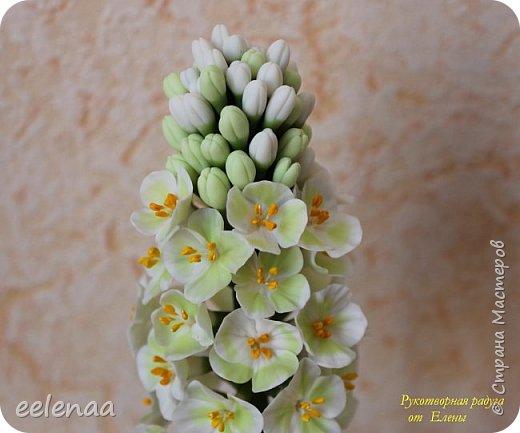 Фантазийный цветок ( холодный фарфор). фото 2