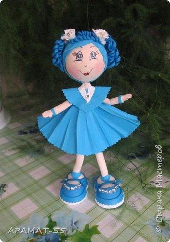 Здравствуйте!!! Сегодня у меня опять куклы.Увлеклась. Целая компания ребятишек. фото 6