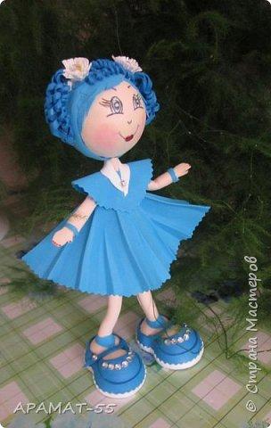 Здравствуйте!!! Сегодня у меня опять куклы.Увлеклась. Целая компания ребятишек. фото 7