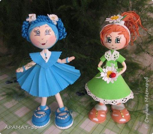 Здравствуйте!!! Сегодня у меня опять куклы.Увлеклась. Целая компания ребятишек. фото 9
